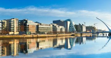 Ireland dublin waterfront 1500